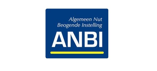 Algemeen nut beogende instellingen kunnen met dit logo laten zien dat ze ANBI zijn