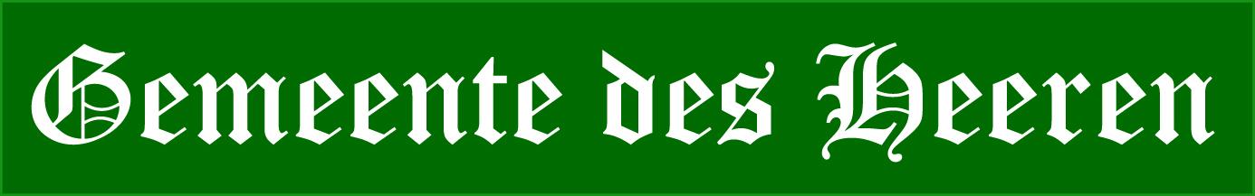 logo-Geloofsgenootschap Gemeente des Heeren Klazienaveen