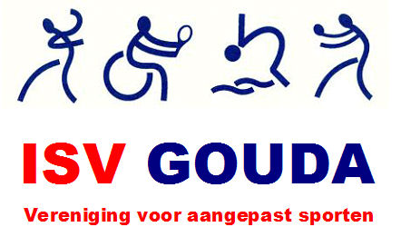 logo-Vereniging voor aangepast sporten ISV Gouda & Omstreken